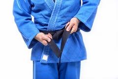 Tie the Belt Stock Images