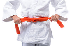 Tie the Belt Stock Photos