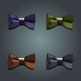 Tie bow vector Royalty Free Stock Photo