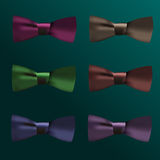 Tie bow vector Stock Image