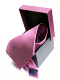 Tie box Royalty Free Stock Photography
