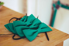 Tie Butterfly for wedding Stock Photo