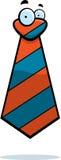 Tie Cartoon. A cartoon tie with eyes Stock Photography