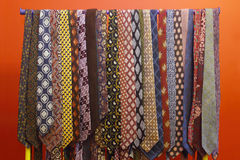 Tie collection Stock Photography