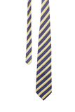Tie a colorful striped. Royalty Free Stock Images