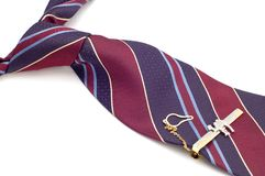 Tie cuff link Royalty Free Stock Photography