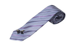 Tie and Cuff Links Stock Images