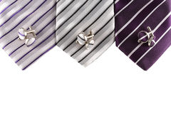 Tie with cuff links Stock Photos