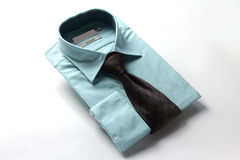 Tie and dress shirt for men Royalty Free Stock Images