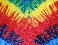 Tie dye. Brightly colored tie dye design Stock Photos