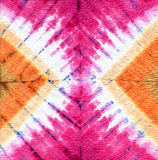 Tie dye. Abstract tie dyed fabric background Stock Image
