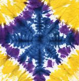 Tie dye. Abstract tie dyed fabric background Stock Images