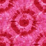 Tie Dye Background. Seamless tie-dye pattern of indigo color on white silk. Hand painting fabrics - nodular batik. Shibori dyeing stock illustration