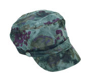 Tie Dye Commando Hat Royalty Free Stock Photo
