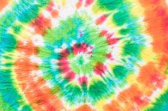 Tie dye fabric background Royalty Free Stock Photos