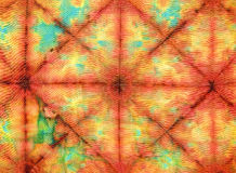Tie dye. Fabric texture background Stock Photography