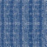 Tie dye indigo seamless pattern. Vector japanese shibori print. Geometric ikat endless tile. Organic texture. Japan endless rapport. Vector hand drawn tie dye royalty free illustration