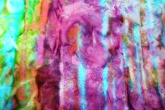 Tie Dye Ocean Stock Photos