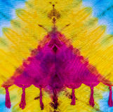 Tie dye pattern Royalty Free Stock Images