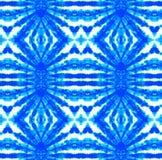 Tie Dye Pattern. Shibori seamless print. Tie Dye Pattern. Watercolor hand drawn batik. Summer ink japan illustration. Handmade watercolour shirt tie dye pattern royalty free illustration