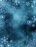 Tie-dye snowflakes Stock Image