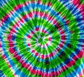 tie dye textile pattern Stock Photos