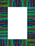Tie-dyed Frame Royalty Free Stock Photography