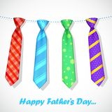 Tie in Father's Day Card Stock Photography
