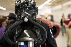 Tie Fighter Pilot, Comicon Stock Images