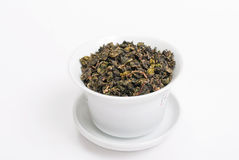 Tie Guan Yin, Chinese Oolong Tea Royalty Free Stock Photo