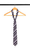Tie on a hanger Royalty Free Stock Photo