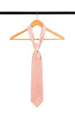 Tie on a hanger Stock Photo