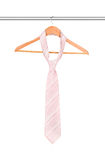 Tie on a hanger Stock Images