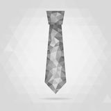 Tie Icon geometric symbo Stock Photography