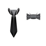 Tie icons Royalty Free Stock Photos