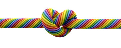 Tie The Knot Gay Marriage Royalty Free Stock Photography