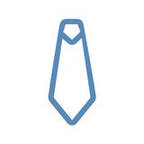 Tie Line Icon Royalty Free Stock Images