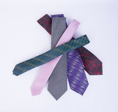 Tie or neck tie on a background. Royalty Free Stock Photos