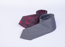 Tie or neck tie on a background. Royalty Free Stock Photo