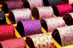 Tie rack Royalty Free Stock Image