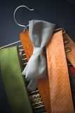 Tie rack Royalty Free Stock Photos