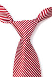 Tie with red stripes Stock Image