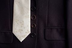 Tie and rings royalty free stock images