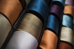 Tie Rolls Stock Image