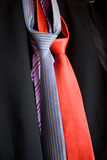 Tie selection stock image