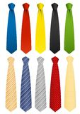 Tie set Stock Images