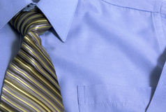 Tie with Shirt Royalty Free Stock Image