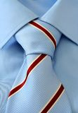Tie & Shirt. Knob stock photography