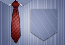 Tie and shirt for Father Day Royalty Free Stock Photo