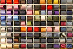 Tie shop Royalty Free Stock Photography